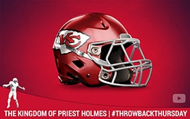 The Kingdom of Priest Holmes | Priest Holmes Media | Priest Holmes Videos | Official Priest Holmes Website